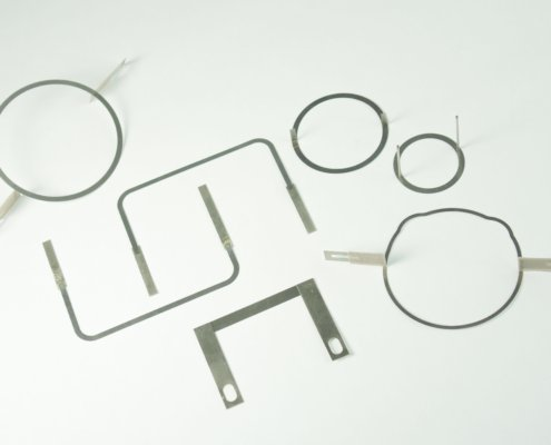 Shaped Heating Elements